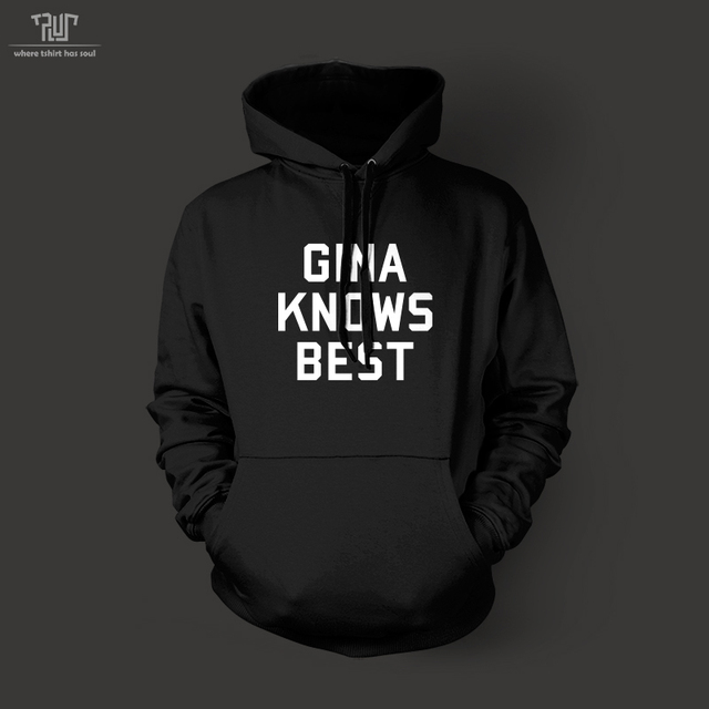 Brooklyn Nine Nine Gina knows best letter pullover hoodie high ...
