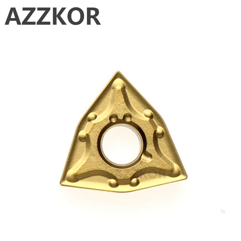 AZZKOR WNMG431 WNMG080404 Carbide Inserts Cutter CNC Lathe Turning Tools For Metal External MA Insert Wholesale WNMG080408 NT600