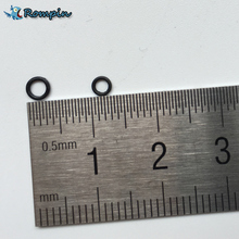 Rompin 100Pcs Carp fishing rigs Quick change Round rig rings fishing rigs O rings 3.1mm&3.7mm