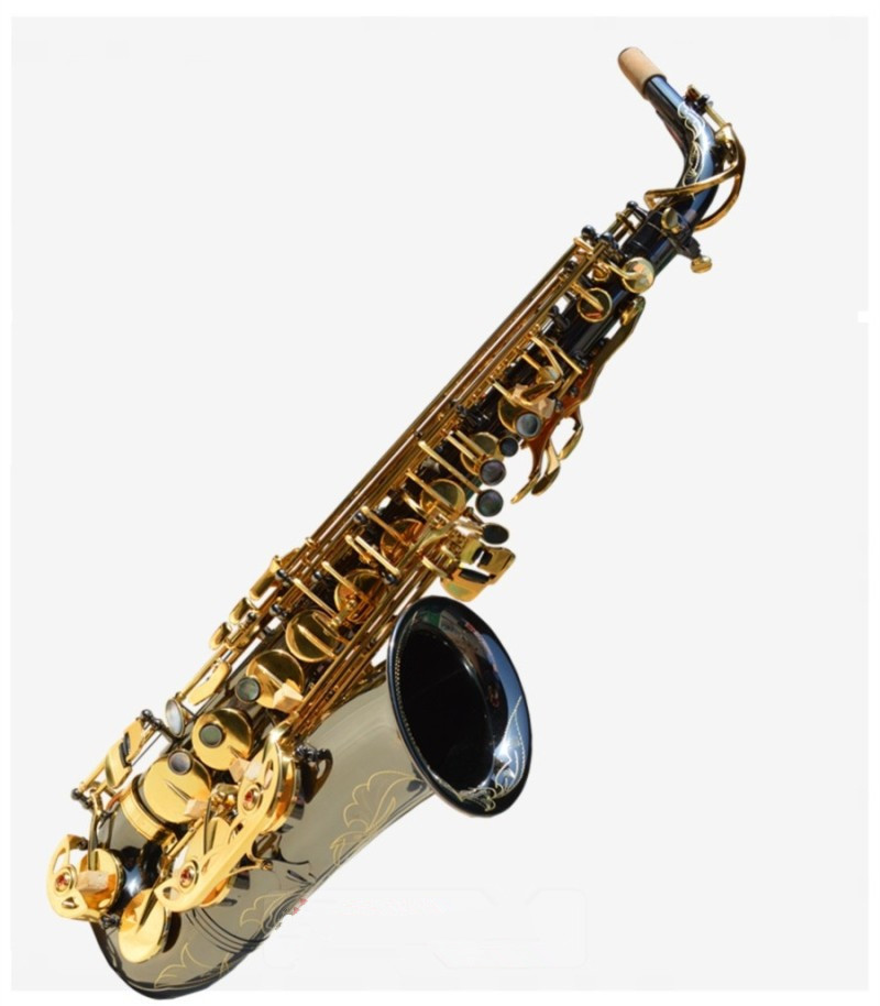 Alto Saxophone DHL free shipping High Quality Saxophone Alto Sax - R54 Palheta Professional musical instruments tenor saxophone free shipping selmer instrument saxophone wire drawing bronze copper 54 professional b mouthpiece sax saxophone