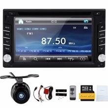 Universal 2Din 6.2″ In Dash Car DVD Player Radio Auto GPS/FM/USB/SD/Bluetooth/ HD digital touch screen full popular function CAM
