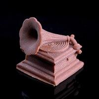 Nicole 3D Fonograf Tasarım Silikon Kalıp Fondan Kek Dekorasyon Araçları El Yapımı Sabun Çikolata Şeker Yapma Kalıp