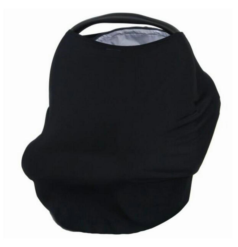 a76940f8f438f Baby Car Seat Covers - Stretchy Infant Canopy and Nursing cover for  Breastfeeding Newborns Infants Babies Black