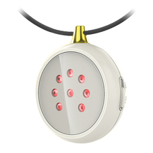 650nm lllt cold laser therapy necklace for old age home reme