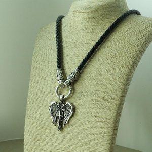 Мужское ожерелье lanseis, с подвеской в виде крыльев Ангела, 1 шт.