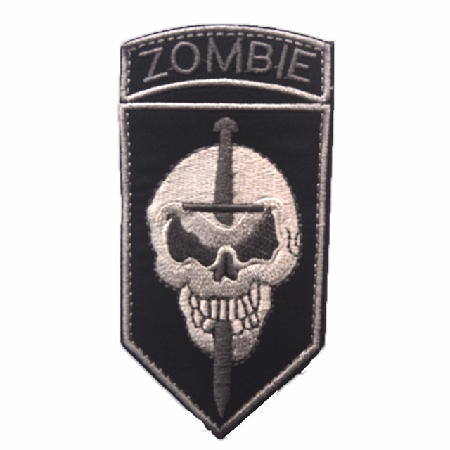Zombie hunter tactical morale patch zombie outbreak response team.