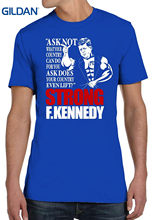 1f339e0bed02 Casual Plus Size T-shirts Hip Hop Style Tops Tee S-2xl Bro Science Men s  Strong F Kennedy T-shirt