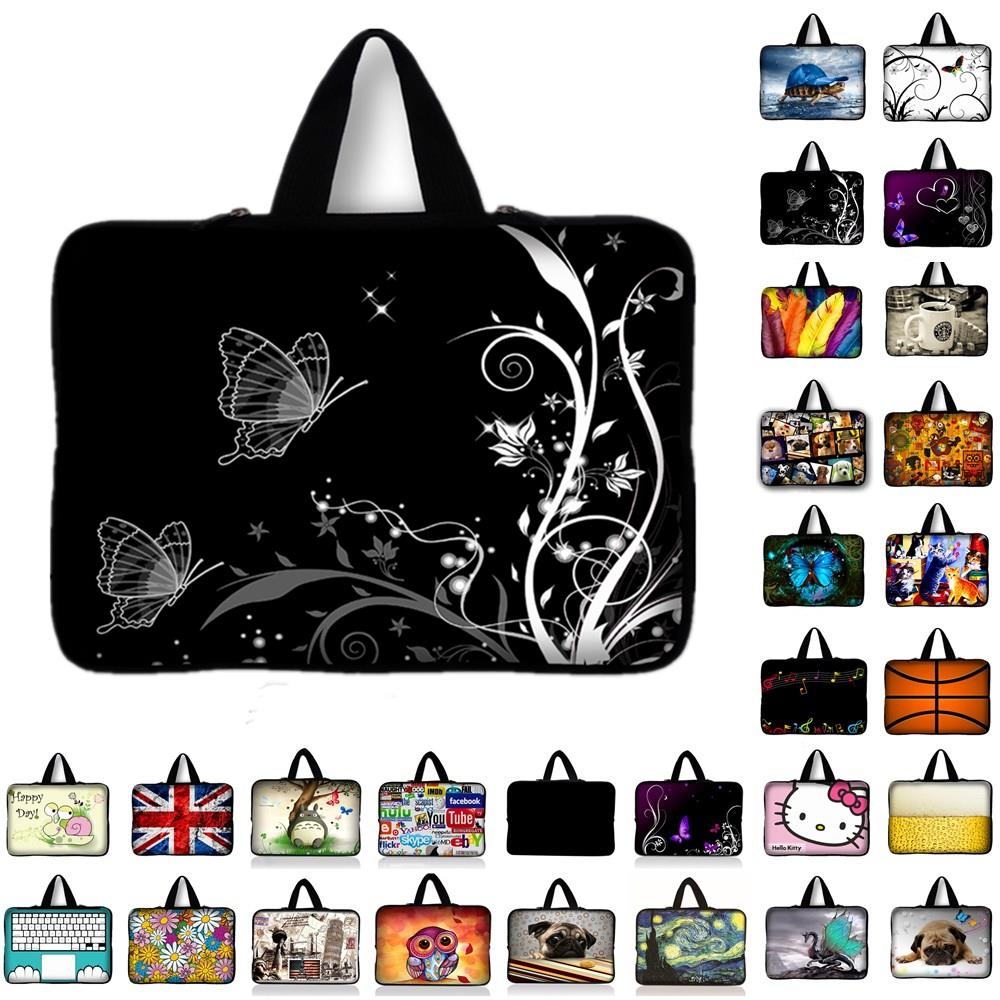Flowers Neoprene Laptop Bag Tablet Sleeve Pouch For Notebook Computer Bag 7 10 12 13 13.3 15 15.4 17.3 For Macbook IPad Y1