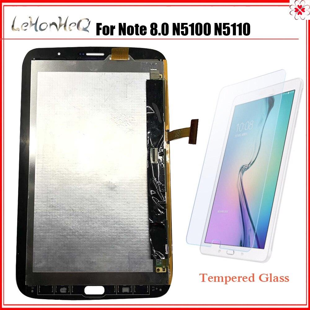 Tablette LCD pour Samsung Galaxy Note 8.0 N5100 N5110 LCD écran tactile numériseur assemblée pour Samsung Note 8.0 SM-N5100 LCD