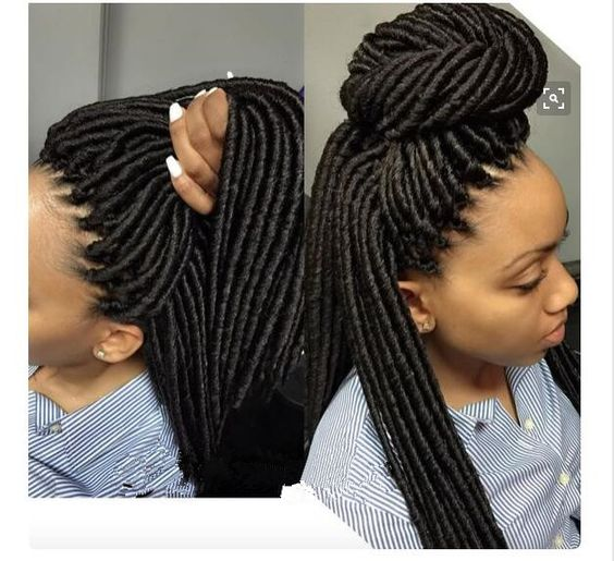 synthetic soft eunice hair dreadlocks