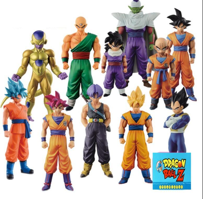 Dragon Ball Z Action Figures DXF Goku Gohan Vegeta Super
