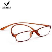 6b19bf8a4d1 Flexible TR90 Reading Glasses Women Men Round Frame Unbreakable Pocket  Reader Geek NERD Hyperopia Presbyopia Eyeglasses