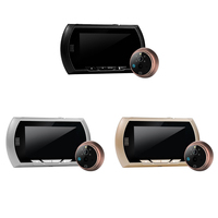4.3 TFT LCD Digital Peephole Door Viewer Camera PIR Motion Detection Doorbell IR Night Vision Security Camera Cam