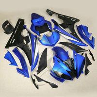 Blue Black ABS Plastic Fairing Bodywork For YAMAHA YZF R6 YZF R6 2006 2007 17A
