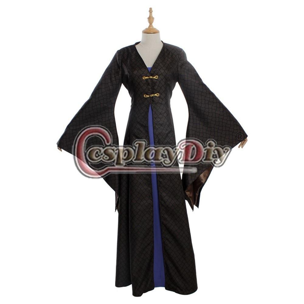 Cosplaydiy  Game of Thrones Sansa Stark Adult Medieval Dress Halloween Cosplay Costume Custom Made