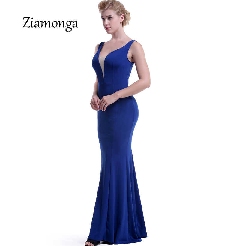 07a6ea2cd8099 Ziamonga Sexy Sequined Back Women Maxi Sexy Dresses Black Red Blue Erotic  Mermaid Summer Formal Dress Elegant Long Bodycon Dress