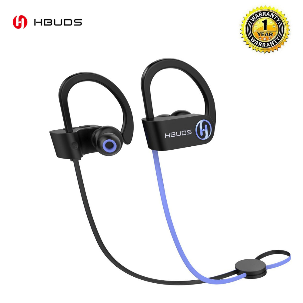 Bluetooth Headphones  Wireless Sport Earbuds Waterproof IPX7 Deep Bass HiFi Stereo In-Ear Earphones w/ Mic Headsets 8-9 Hrs H1SE lightweight sport headphones with mic hifi in ear earphones ear hook comfortable headsets noise cancelling earbuds for phone mp3