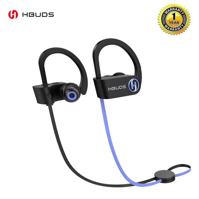HBUDS H1SE Bluetooth Headphone IPX7 Waterproof Wireless Headset Handsfee Sports Earphones With Mic And 7H Playing Time For Phone
