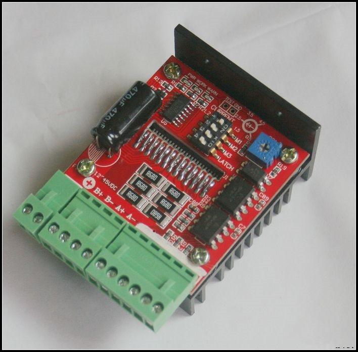 Бесплатная доставка! TB6600 1-Ось шагового двигателя привода контроллер гравировальный станок 4.5a