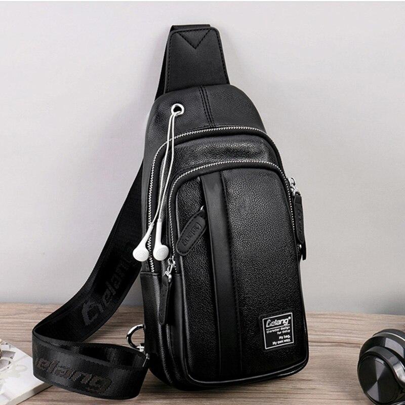 Lielang Male Bag Crossbody-Bags Backbag Shoulder-Strap Sling-Bag Messenger Warterproof