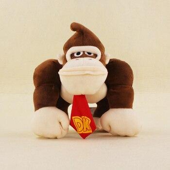 20 см Super Mario Bros обезьяна осел Конг Мягкие плюшевые игрушечные лошадки куклы Подарки для детей