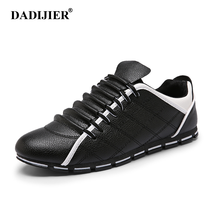 New 2017 Men Shoes Casual Light Breathable Fashion Action Leather Shoes Comfortable Spring Summer Trainers shoes ST193 micro micro 2017 men casual shoes comfortable spring fashion breathable white shoes swallow pattern microfiber shoe yj a081