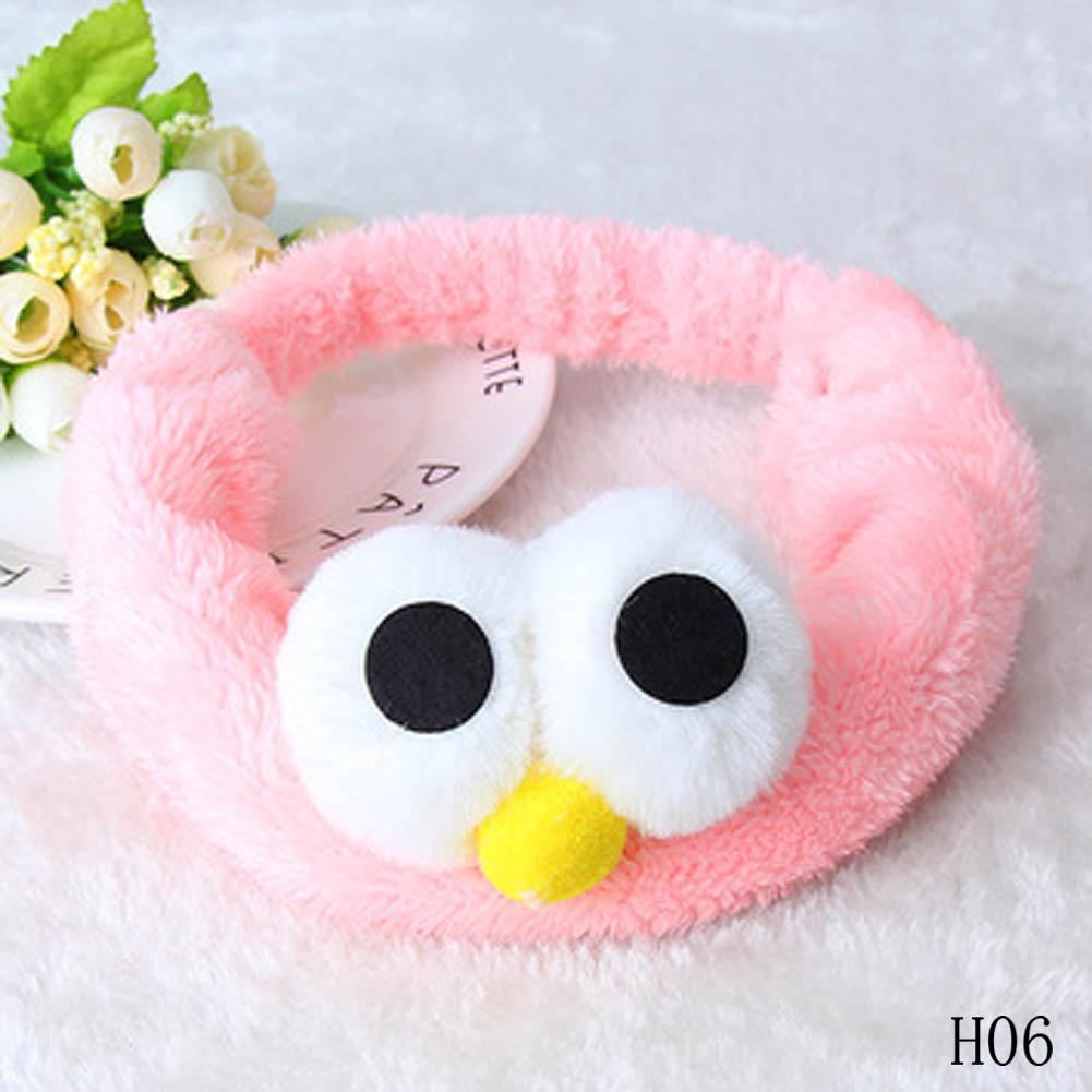 New Soft Cute Cartoon Hair Band Facial Mask Hair Band Cute Big