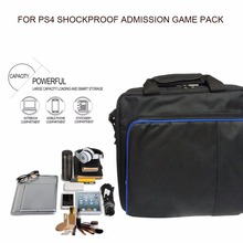 High quality Protective Game Bag Travel Storage Carry Case Shoulder Bags for PS4 Console Controller for PlayStation