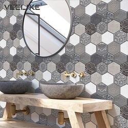Самоклеящиеся водостойкие 3D ПВХ стеновые панели для кухни щитка плитки кирпичные обои для спальни стены ванной комнаты домашний декор