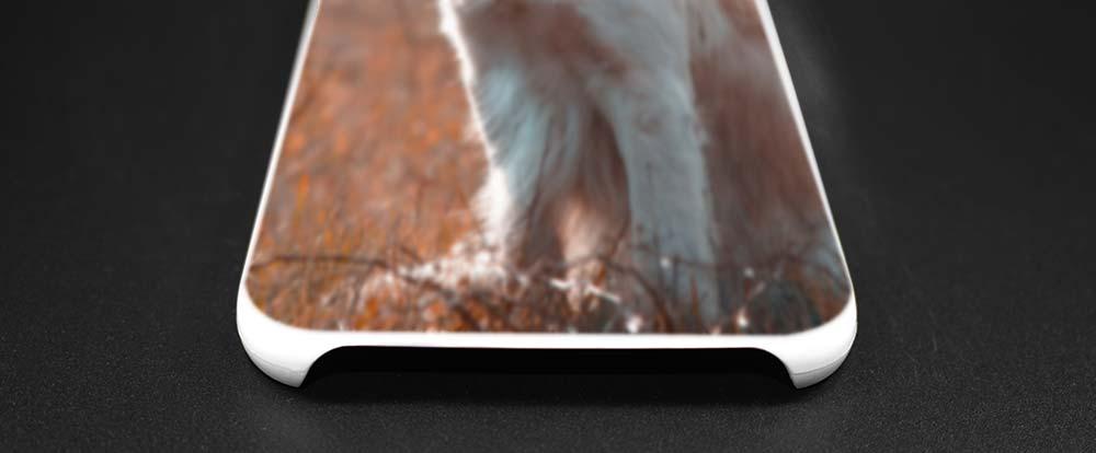 BINYEAE Golden Retriever dog art Hard White Case Cover for Samsung Galaxy S5 Mini S6 S7 S8 Edge Plus Note 4 5 8