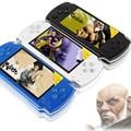 Juego de vídeo de alta calidad 8 GB 4.3 pulgadas MP4 Pantalla LCD los jugadores de Juegos de Consola Handheld del Juego del envío 2000 + juegos ebook/FM/1.3 MP cámara