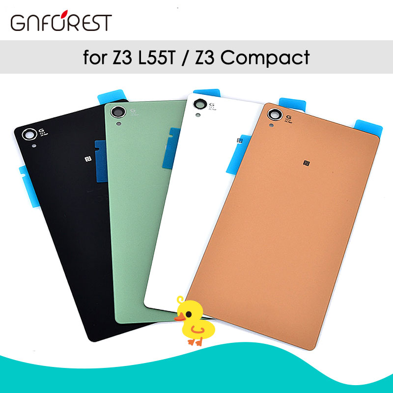 Gnforest Housing D6603 Compact Sony Xperia Battery-Case Glass-Cover Back-Door Z3 L55T