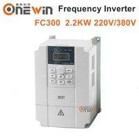 2.2KW 220 v VFD frequenz inverter für spindel motor FC300-in Holzbearbeitungsmaschinen-Teile aus Werkzeug bei