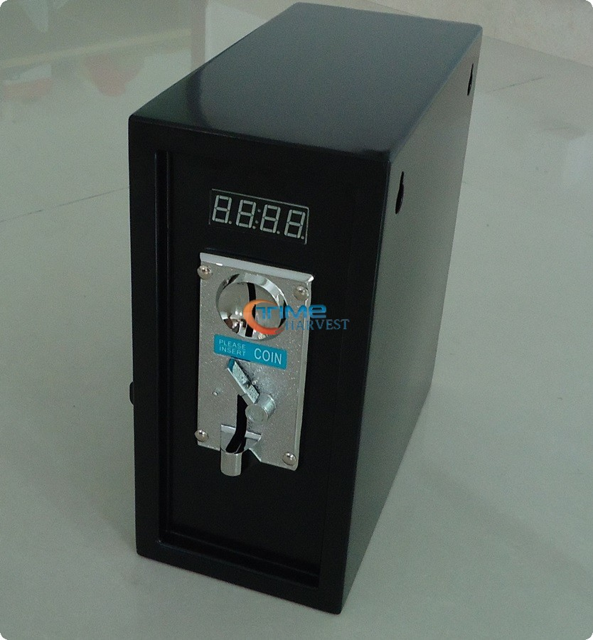 Coin operated timer control box Timer power supply control box with comparable coin selector acceptor for washing massage chair coin operated timer control power supply box to control 220v 240v washing machine electronic device