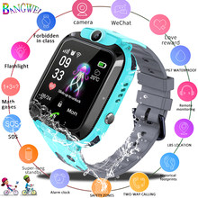 WISHDOIT waterproof kids watch LBS tracker Child anti-lost SOS alarm smart watch Support 2G SIM card boys girl Gift watch Reloj(China)