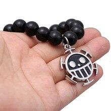 Trafalgar Law Black Onyx Beads Bracelet