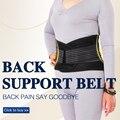 Neoprene Duplo Puxe Lombar postura Ajustável Apoio espinha Inferior com elástico para trás suporte Belt Alívio Da Dor Brace Banda Cintura