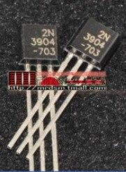 100 шт. 2N3904 40В 0.2A триодный транзистор NPN TO-92