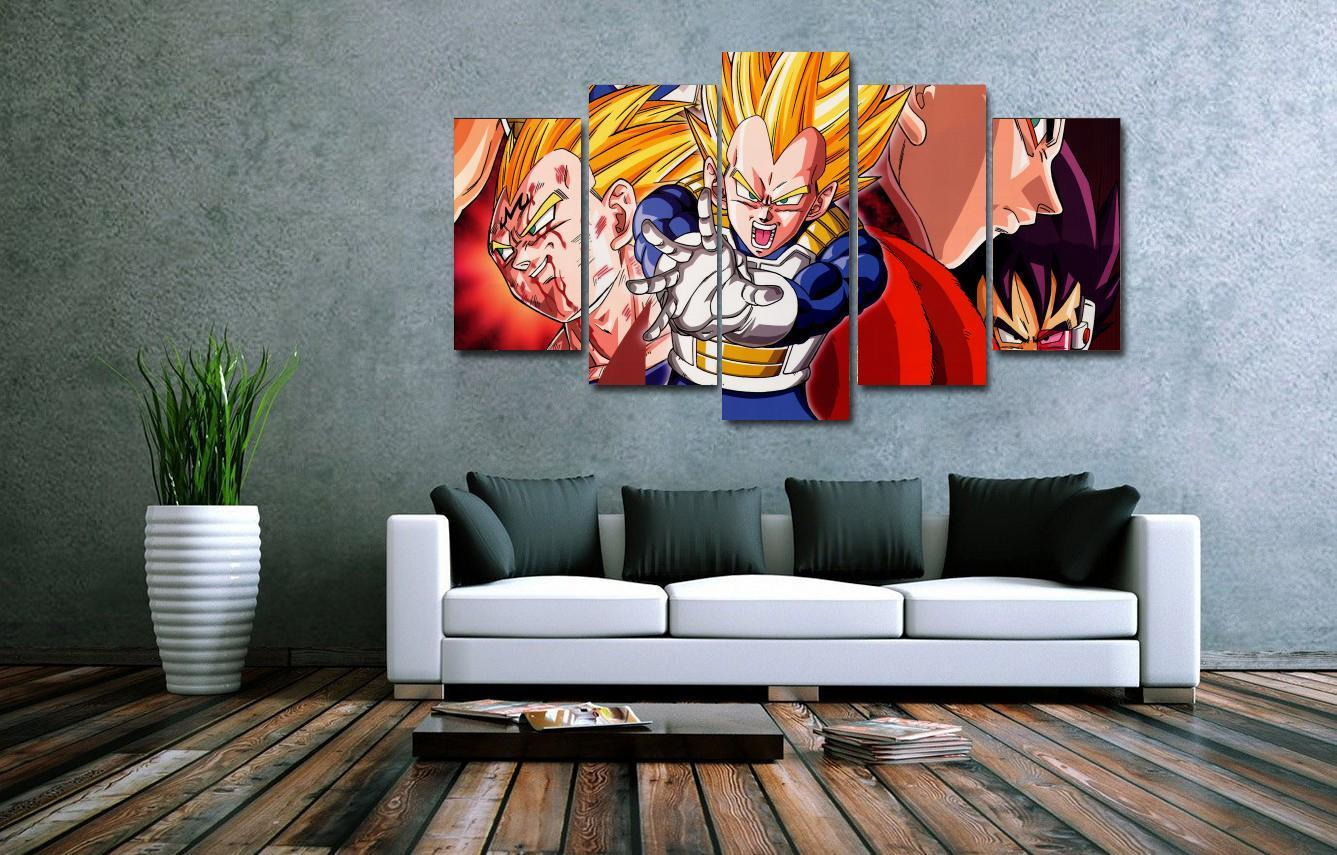5 panels wall art 5 panels wall art dragon ball z goku saiyan 5 panels wall art 5 panels wall art dragon ball z goku saiyan paintings art canvas paintings poster unframed 2853 in painting calligraphy from home amipublicfo Images