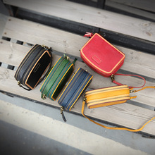 [NEW] YIFANGZHE Small Genuine Leather Crossbody Bag, 2 Main Bags With Multiple-Purse and Shoulder Bag with Adjustable Strap