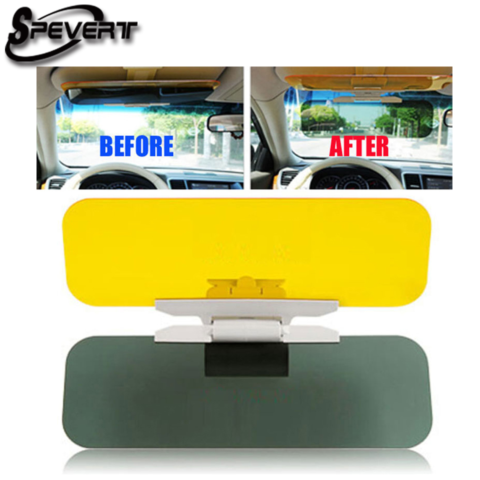 SPEVERT HD Glasses Anti Reflection Car Sun Visors Day and Night vision driving safe
