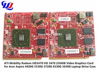 ATI Mobility Radeon HD3470 HD 3470 256MB Video Graphics Card For Acer Aspire 4920G 5530G 5720G