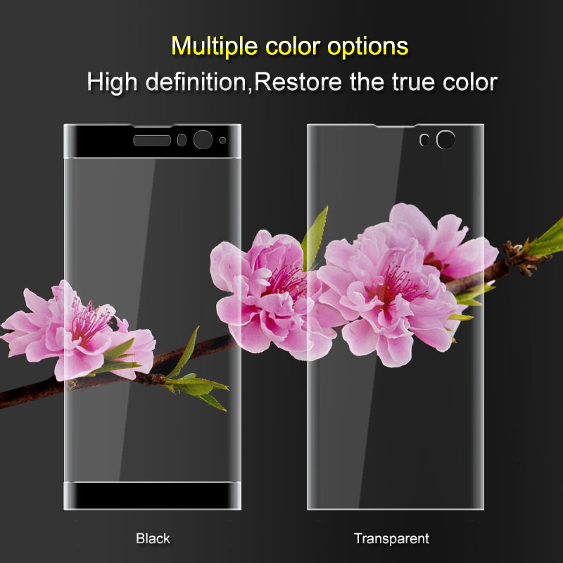 Imak 3D Full Cover Tempered Glass For Sony Xperia XA2 Screen Protector for Sony XA2 Dual Sim Protective Glass Flim