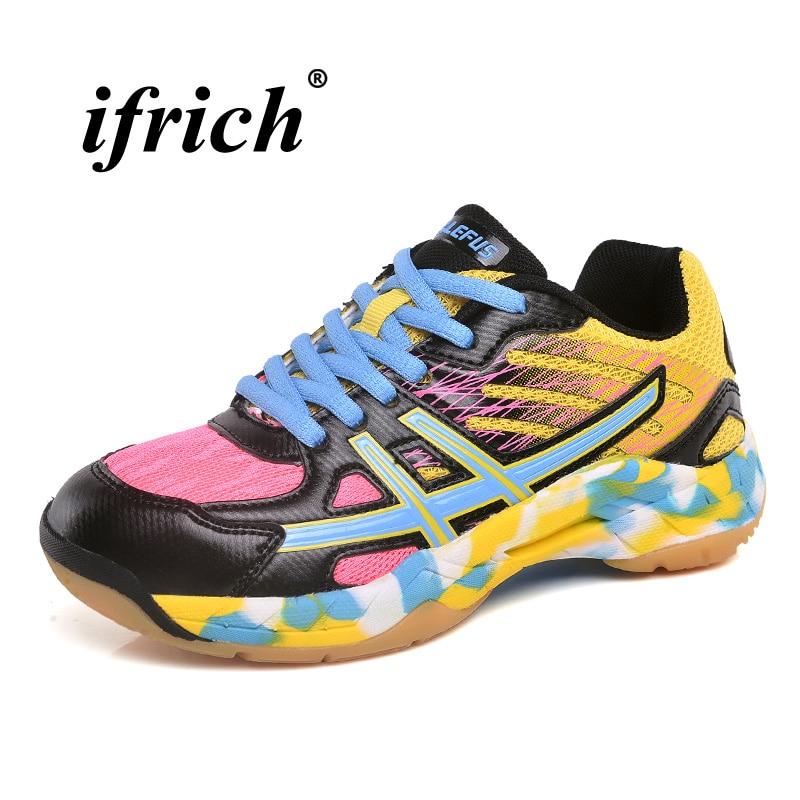 Children Badminton Shoes Purple Black Boys Badminton Sneakers Breathable Indoor Court Shoes Girls Anti Slip Sports
