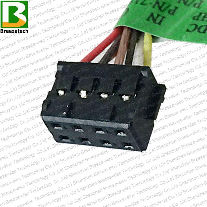 5PCS / lot Բնօրինակ նոթբուք DC Power Jack - Համակարգչային մալուխներ և միակցիչներ - Լուսանկար 6