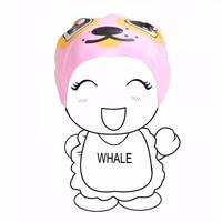 고래 브랜드 아이 소년 소녀 주니어 청소년 CAP-1500 100% 실리콘
