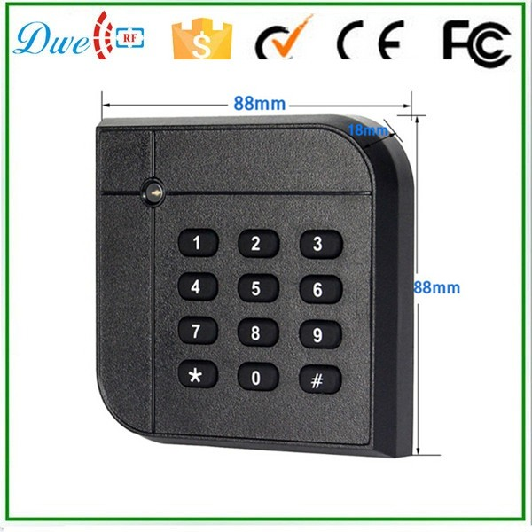 DWE CC RF rfid access control keypad readers Wiegand 26bit 125khz Proximity Card Reader dwe cc rf 125khz wiegand ip65 keypad passport reader for access control