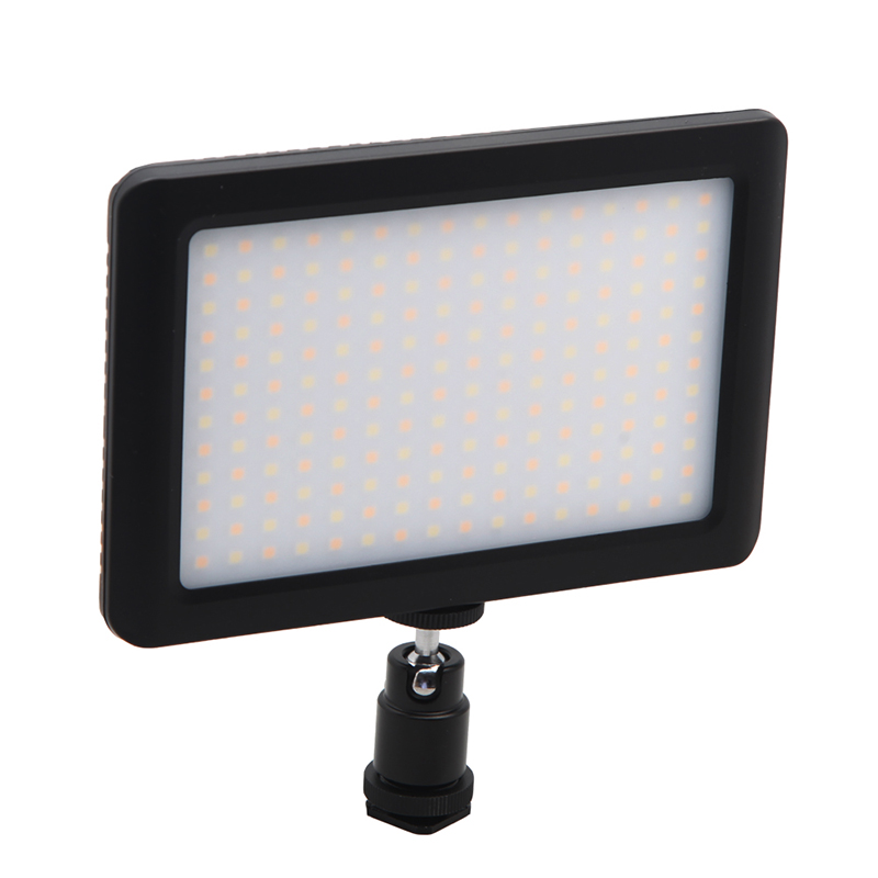 12W 192 Leds Studio Video Continuous Light Adjustable 3200K-6000K Photographic Lighting For Camera DV Camcorder
