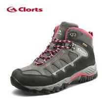 Clorts женские Треккинговые ботинки водонепроницаемые треккинговые ботинки замшевые уличные ботинки женские горные ботинки HKM-823B/E/F
