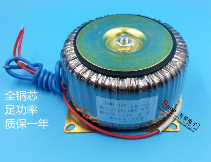 24V 12.5A Toroidal transformer 300VA 220V copper custom transformer transformer for power supply transformer цена